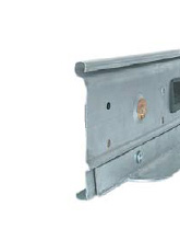 The last profile (endplate) consists of a specially reinforced galvanized steel profile.