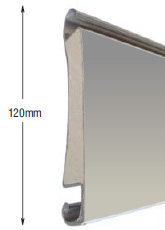 <b>PROFILE:</b><br /> STEEL<br /><br /><b>DIMENSION:</b><br /> 120mm <br /><br /><b>THICKNESS:</b><br /> 0,5mm-1,5mm