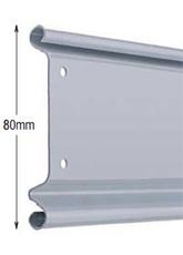 <b>PROFILE:</b><br /> GALVANIZED STEEL<br /><br /><b>DIMENSION:</b><br /> 80mm <br /><br /><b>THICKNESS:</b><br /> 0,6mm/0,8mm