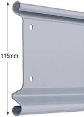 <b>PROFILE:</b><br /> GALVANIZED STEEL<br /><br /><b>DIMENSION:</b><br /> 115mm <br /><br /><b>THICKNESS:</b><br /> 0,6mm/0,8mm/1mm