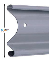 <b>PROFILE:</b><br /> GALVANIZED STEEL<br /><br /><b>DIMENSION:</b><br /> 80mm <br /><br /><b>THICKNESS:</b><br /> 0,6mm/0,8mm/1mm