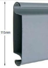 <b>PROFILE:</b><br /> STEEL<br /><br /><b>DIMENSION:</b><br /> 115mm <br /><br /><b>THICKNESS:</b><br /> 0,6mm/0,8mm/1mm