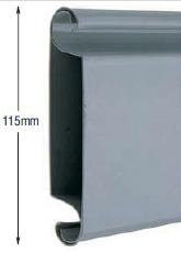 <b>PROFILE:</b><br /> STEEL<br /><br /><b>DIMENSION:</b><br /> 115mm <br /><br /><b>THICKNESS:</b><br /> 0,6mm/0,8mm/1mm