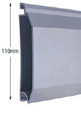<b>PROFILE:</b><br /> ALUMINUM<br /><br /><b>DIMENSION:</b><br /> 110mm <br /><br /><b>THICKNESS:</b><br /> 1,5mm