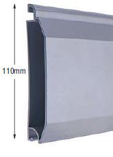 <b>PROFILE:</b><br /> ALUMINUM<br /><br /><b>DIMENSION:</b><br /> 110mm <br /><br /><b>THICKNESS:</b><br /> 1,5mm