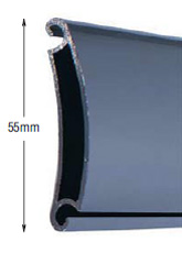 <b>PROFILE:</b><br /> ALUMINUM<br /><br /><b>DIMENSION:</b><br /> 55mm <br /><br /><b>THICKNESS:</b><br /> 1,5mm