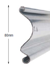 <b>PROFILE:</b><br /> STEEL<br /><br /><b>DIMENSION:</b><br /> 80mm<br /><br /><b>THICKNESS:</b><br /> 1mm