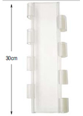 <b>PROFILE:</b><br /> POLYCARBONATE<br /><br /><b>DIMENSION:</b><br /> 30cm